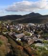 View of Edinburgh from Former Royal High School